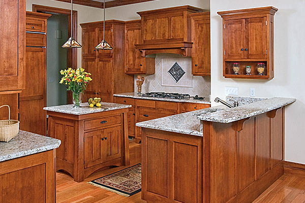 section-sub Custom Kitchen Cabinetry