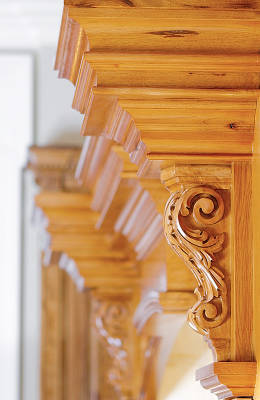 Cabinetry: Woodcarvings
