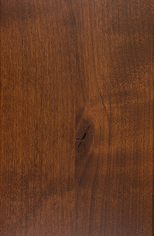 Knotty Alder<br>Light Fruitwood