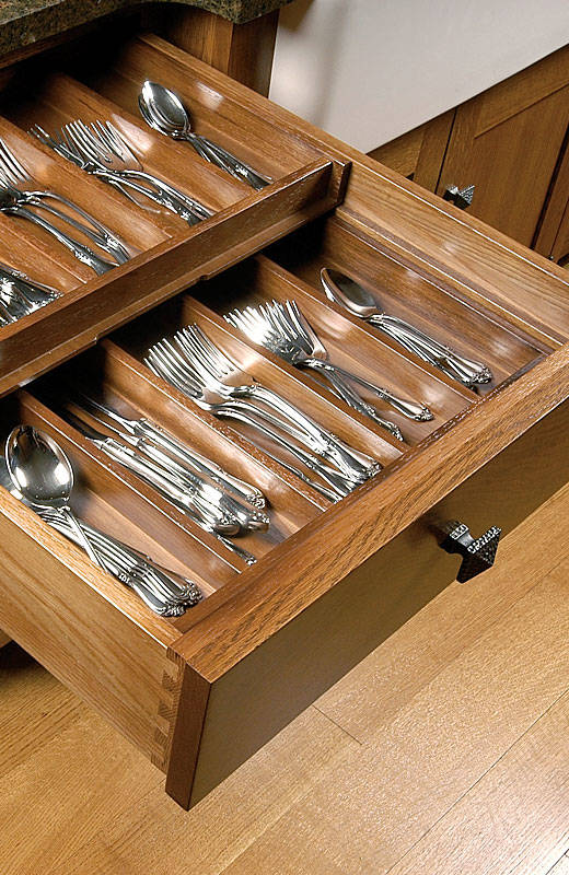 Double Silverware Drawer