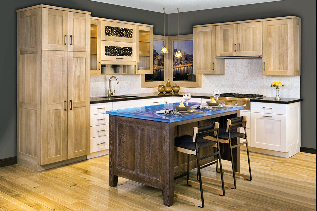 cabinetry | Kitchen Cabinetry | Rift White Oak Kitchen With ...