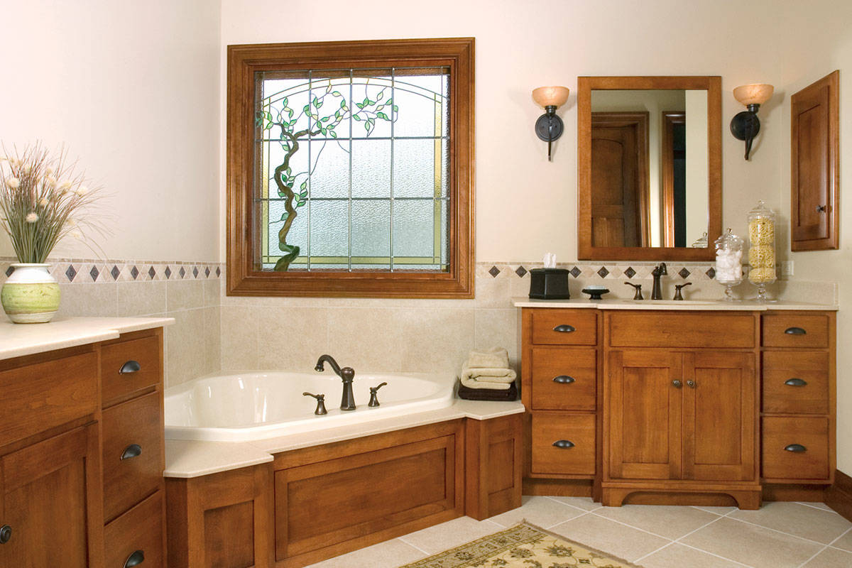 Mission Birch Bathroom - Large
