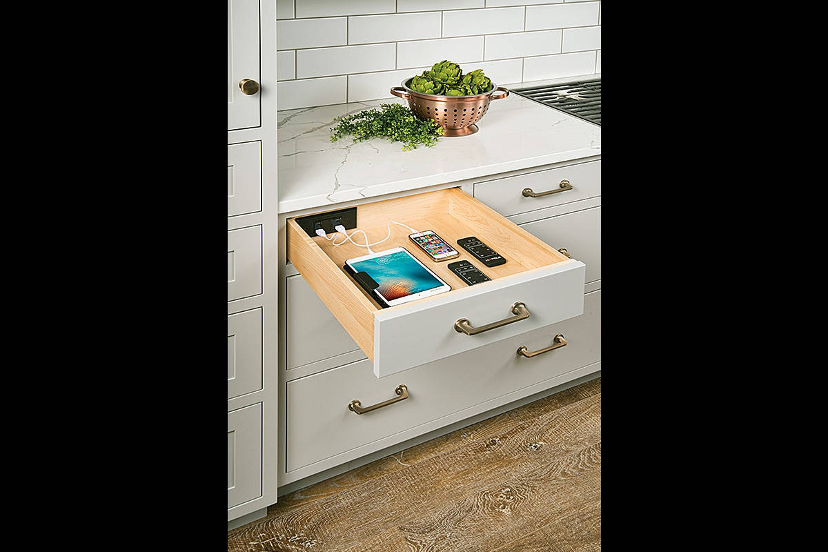 Modern Farmhouse Charger Drawer