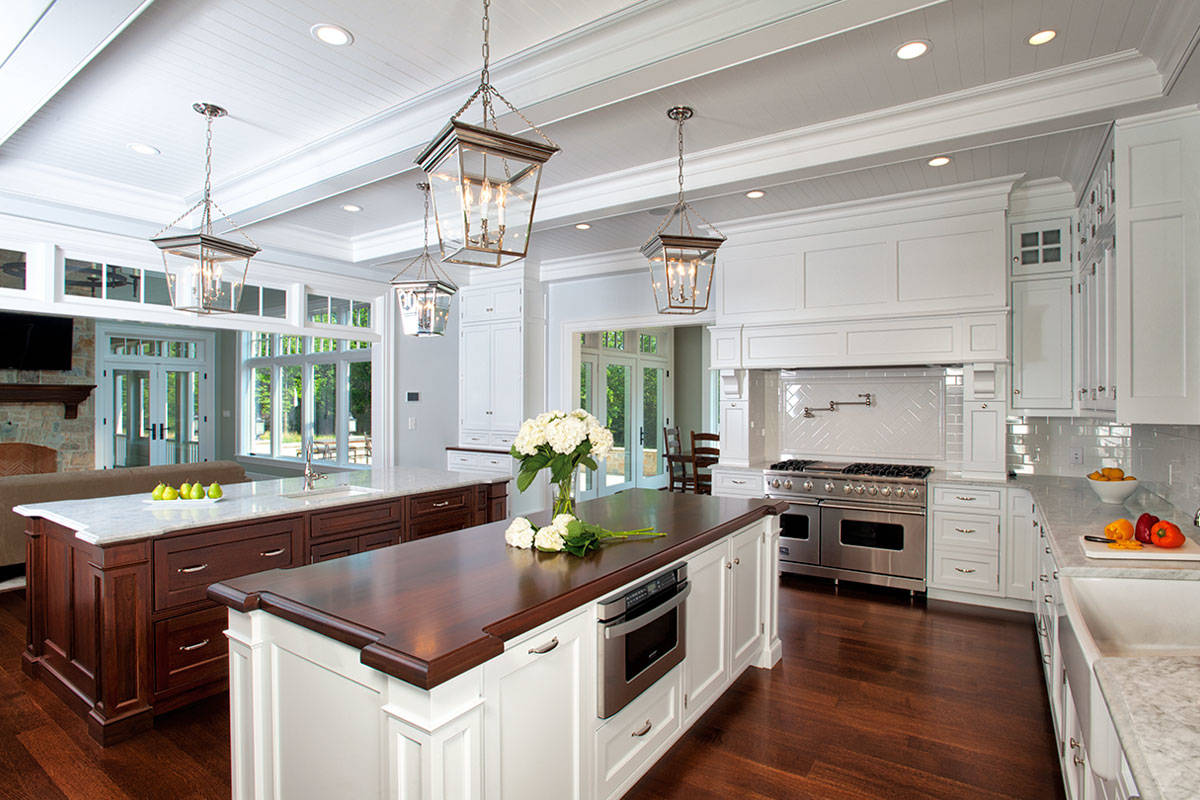 White Walnut Kitchen