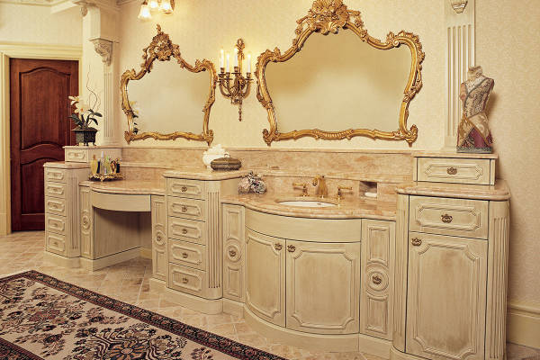 French Provincial Bathroom
