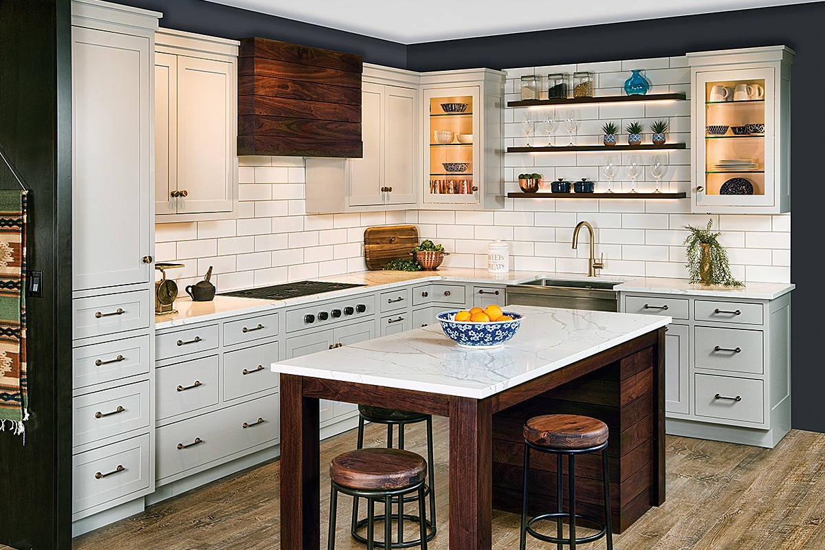 cabinetry | Kitchen Cabinetry | Modern Farmhouse Kitchen
