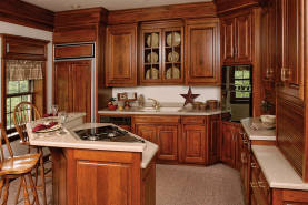 Cherry Kitchen with Island II - Large