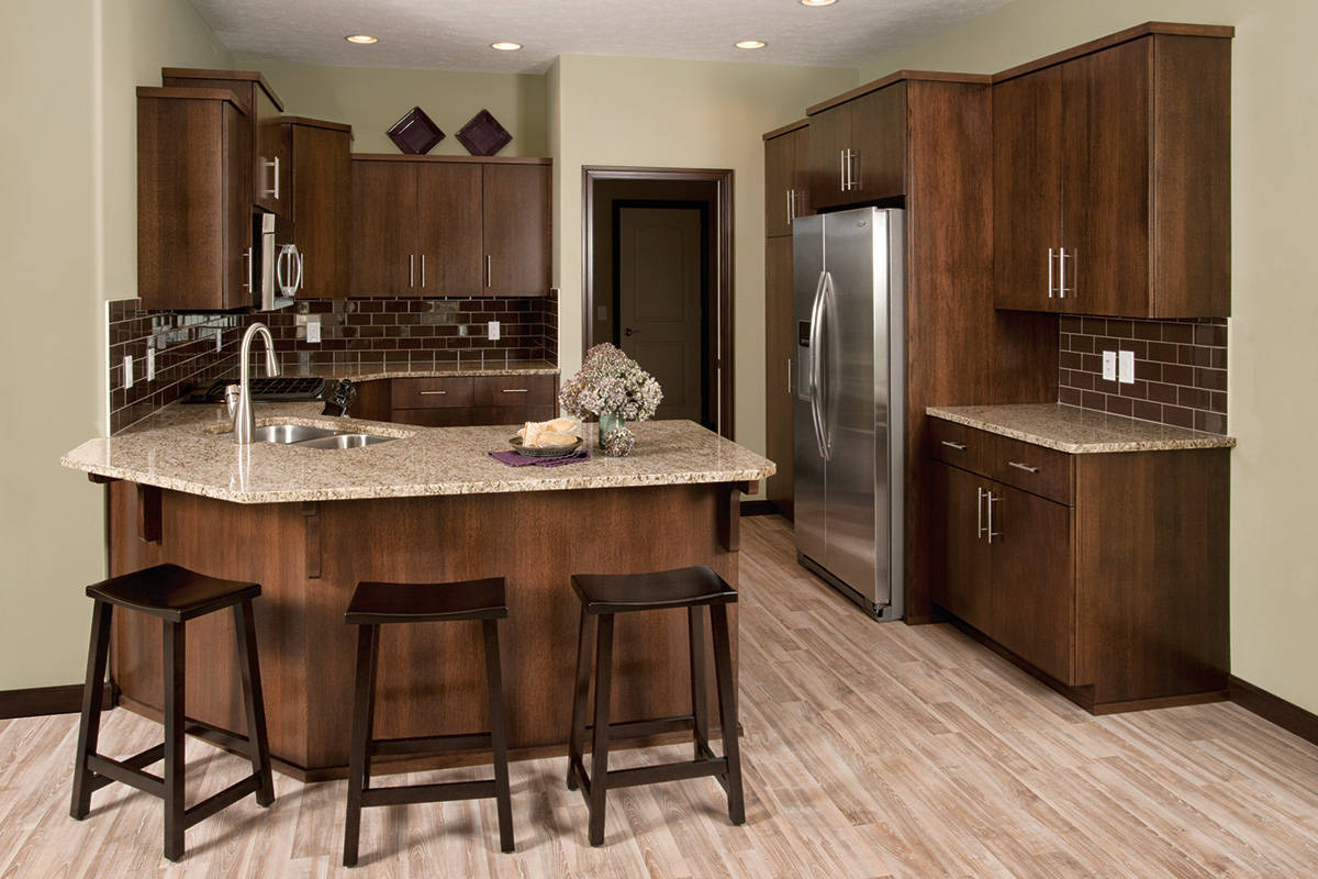 cabinetry   Kitchen Cabinetry   Rift Oak Veneer at The Cove