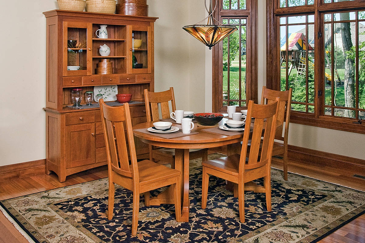 Mission Pedestal Table 2 - Large