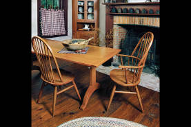Shaker Trestle Table Close - Large