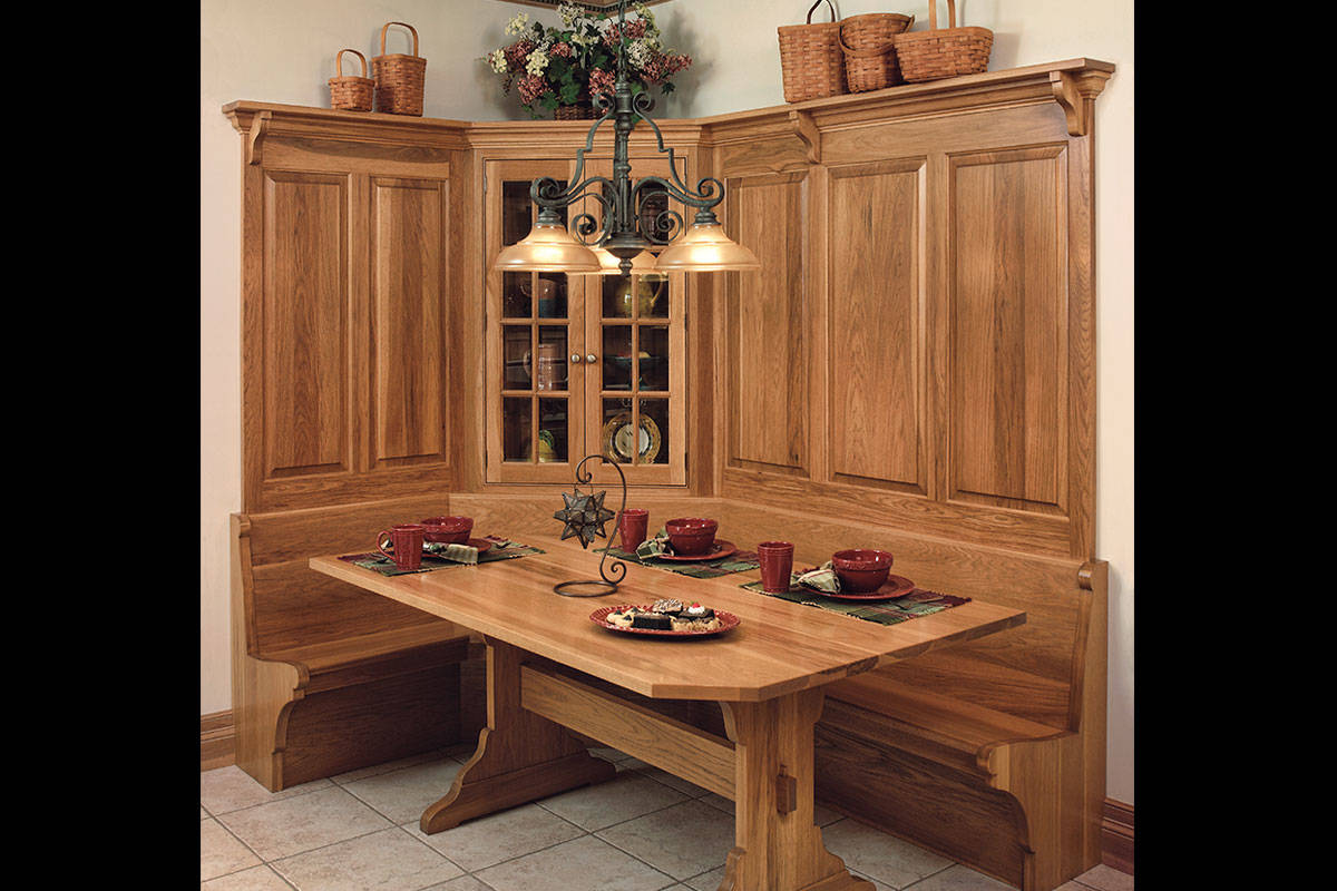 Hickory Kitchen Booth