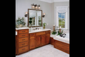 Cherry Bathroom with Jacuzzi - Large